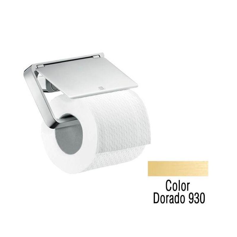 accesorios-para-bano-portarrollo-hansgrohe---axor-portarroll-axor-universal-dorado-c-tapa-hs30do544